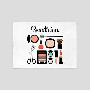 Beautician Kit 5'x7'Area Rug