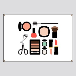 Variety Of Makeup Banner
