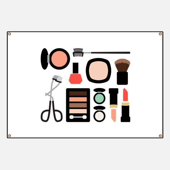 Variety Of Makeup Banner