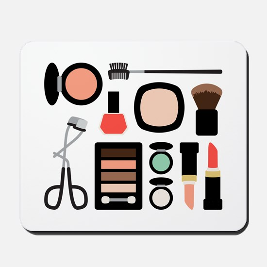 Variety Of Makeup Mousepad