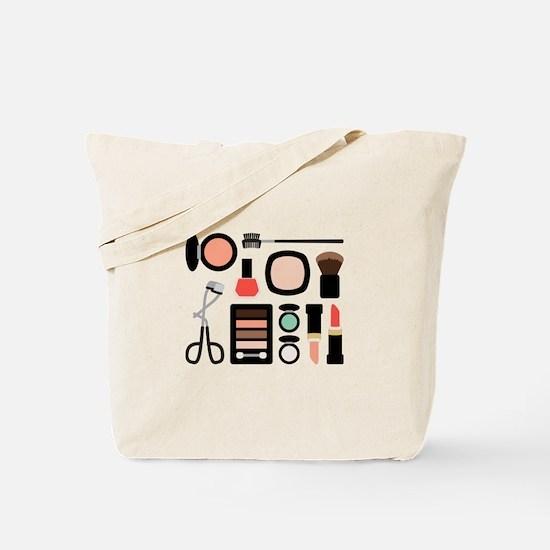 Variety Of Makeup Tote Bag