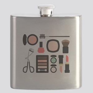 Variety Of Makeup Flask