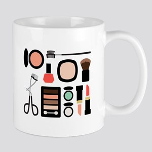 Variety Of Makeup Mugs
