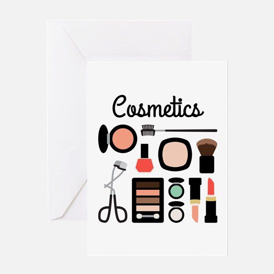 Assorted Cosmetics Greeting Cards