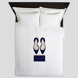 High Heels & Clutch Queen Duvet
