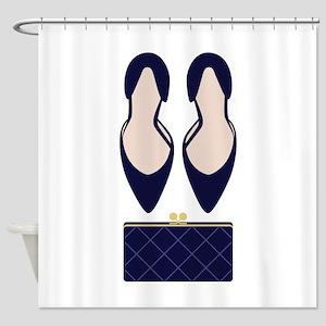 High Heels & Clutch Shower Curtain