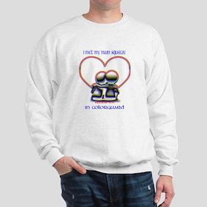 colorguard lovers Sweatshirt