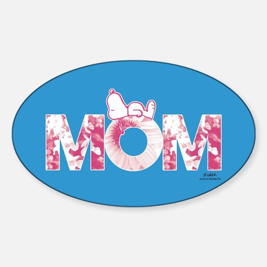 Snoopy - Mom Full Bleed Decal