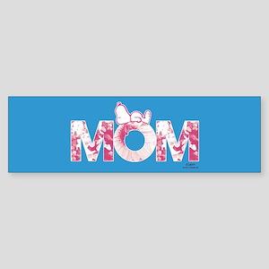 Snoopy - Mom Full Bleed Bumper Sticker