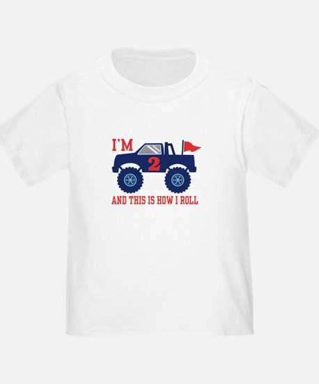 2nd Birthday Monster Truck T