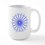 B/g/p Heptadecagram 15 Oz Ceramic Large Mugs
