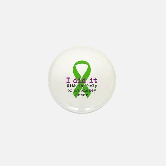 I Did It Mini Button (100 pack)