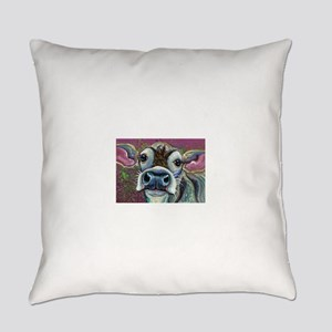 Brown Cow Everyday Pillow