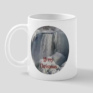 Niagara Falls Merry Christmas Mug