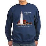 Fort Gratiot Lighthouse Sweatshirt (dark)