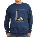 Presque Isle Lighthouse Sweatshirt (dark)