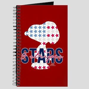 Snoopy - Stars Stripes Full Bleed Journal