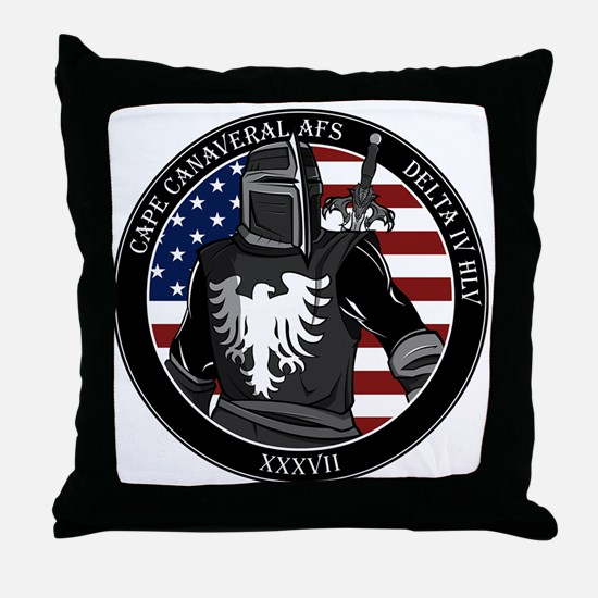 NROL-37 Program Logo Throw Pillow