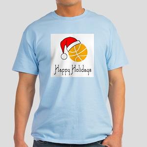 BasketballChick's Happy Holidays Light T-Shirt