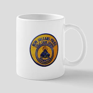 NOPD Cold Case Squad Mugs