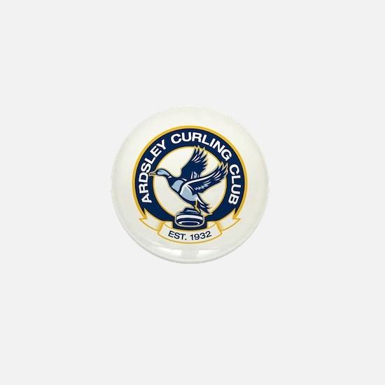 Unique Curling Mini Button