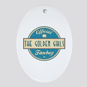 Official The Golden Girls Fanboy Oval Ornament