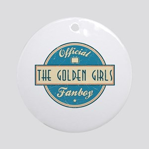 Official The Golden Girls Fanboy Round Ornament
