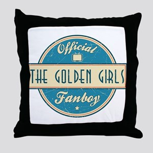 Official The Golden Girls Fanboy Throw Pillow