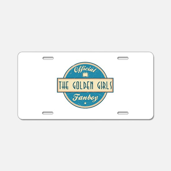 Official The Golden Girls Fanboy Aluminum License