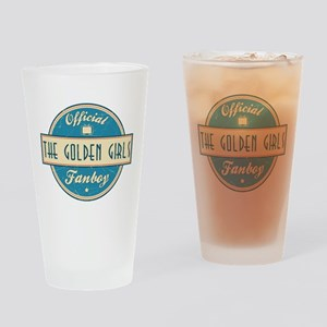 Official The Golden Girls Fanboy Drinking Glass