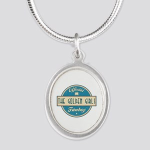 Official The Golden Girls Fanboy Silver Oval Neckl