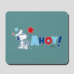 Snoopy AHOY Full Bleed Mousepad