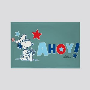 Snoopy AHOY Full Bleed Magnets