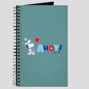Snoopy AHOY Full Bleed Journal