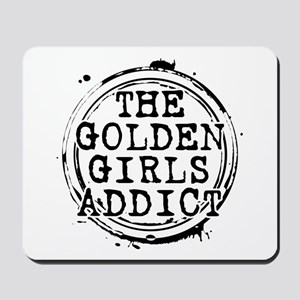 The Golden Girls Addict Stamp Mousepad