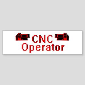 CNC Operator Bumper Sticker