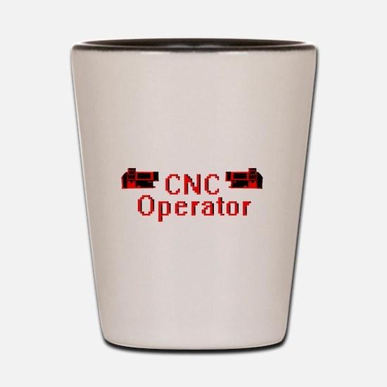 CNC Operator Shot Glass