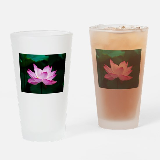 Indian Lotus Flower Drinking Glass
