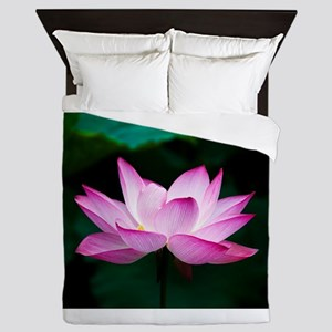 Indian Lotus Flower Queen Duvet