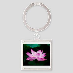 Indian Lotus Flower Keychains