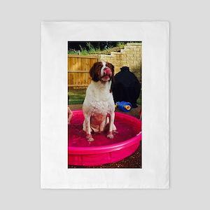 Pool dog Twin Duvet