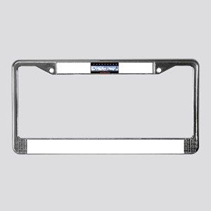 Height License Plate Frame
