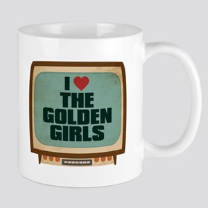 Retro I Heart The Golden Girls Mug