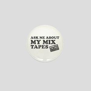 Mix Tapes Mini Button
