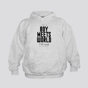 It's a Boy Meets World Thing Kid's Hoodie