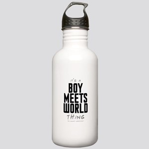 It's a Boy Meets World Thing Stainless Water Bottl