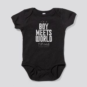 It's a Boy Meets World Thing Baby Bodysuit