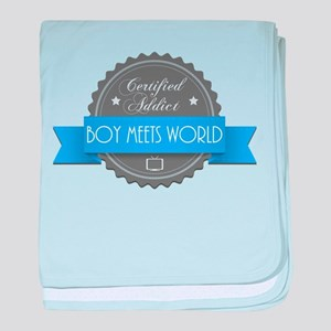 Certified Boy Meets World Addict Infant Blanket