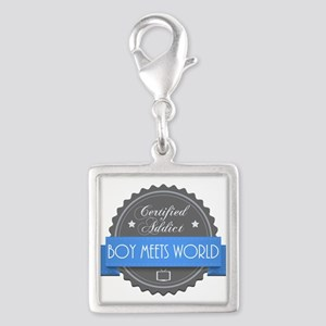 Certified Boy Meets World Addict Silver Square Cha