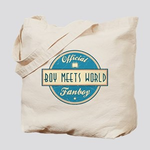 Official Boy Meets World Fanboy Tote Bag